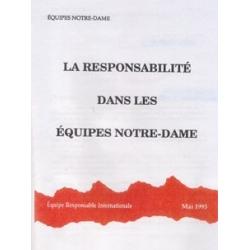 (La) Responsabilité (ERI)