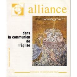 Dans la communion de l'Eglise