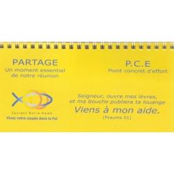 Calendrier PCE