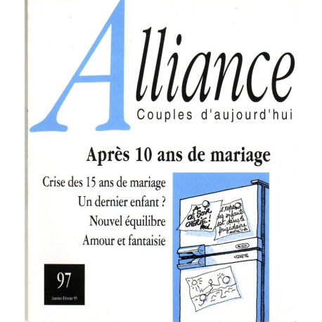 Après 10 ans de mariage