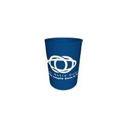Gobelet réutilisable/doseur bleu 30cl