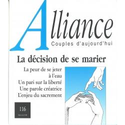 La décision de se marier