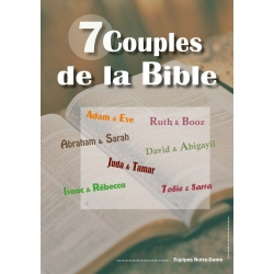 Sept couples de la Bible